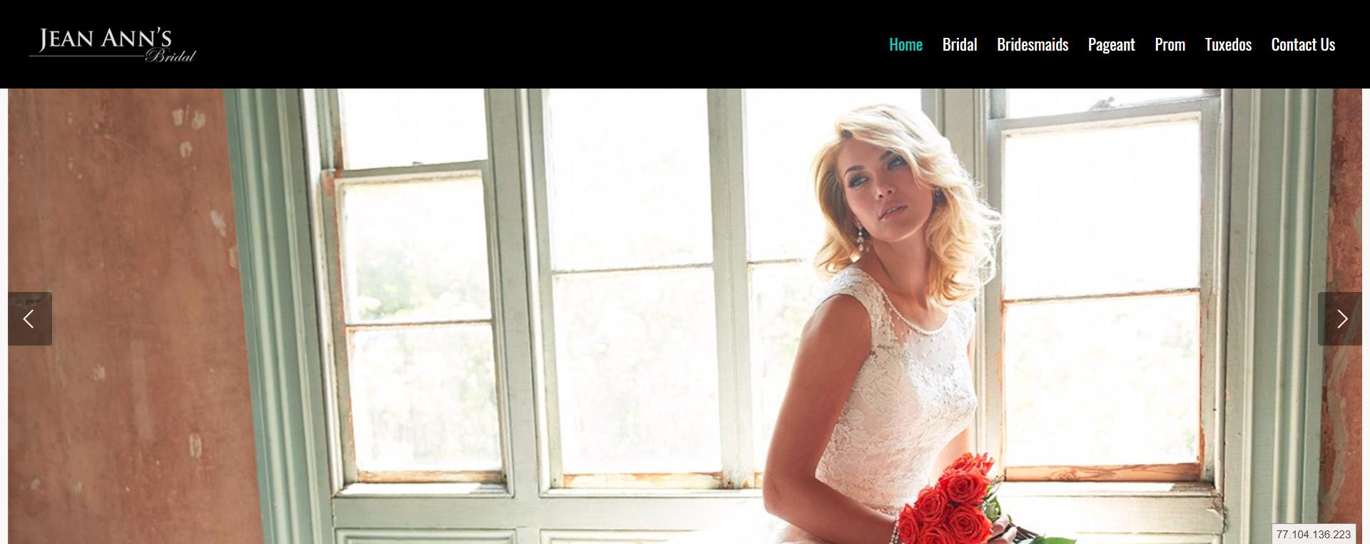 Jean Anns Bridal | Prom, Bridal, Bridesmaid, Pageants, Tuxidos